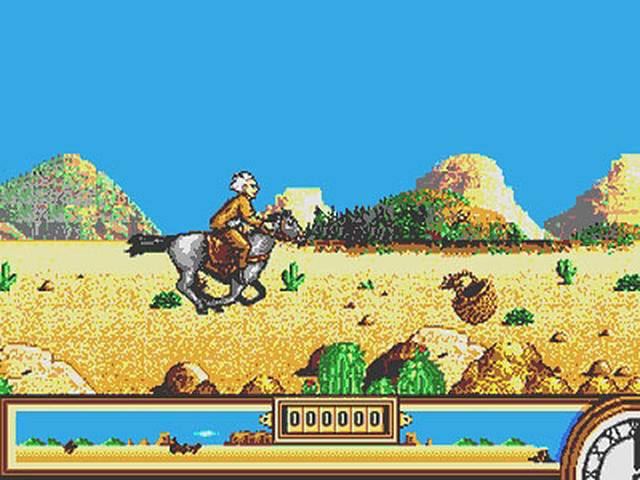 De Volta ao Futuro - Parte III - Mega Drive