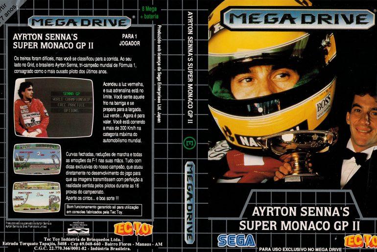 Ayrton Senna Super Monaco GP II lançado pela Tectoy