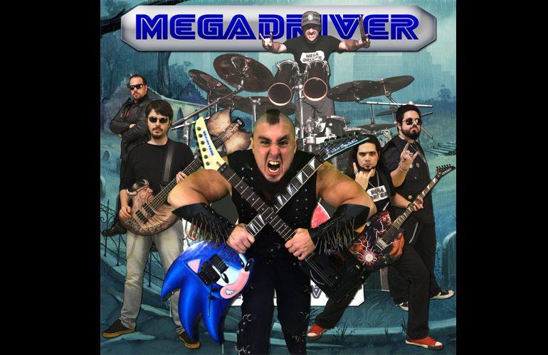 Mega Drive + Heavy Metal – Conheça MegaDriver, a banda brasileira de puro Game Metal!