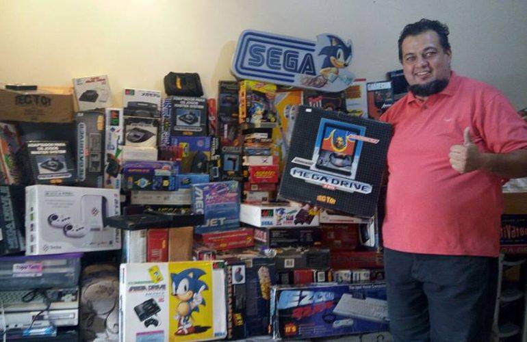 Confira a incrível coleção de Ricardo Wilmers, fã da Sega/Tectoy!