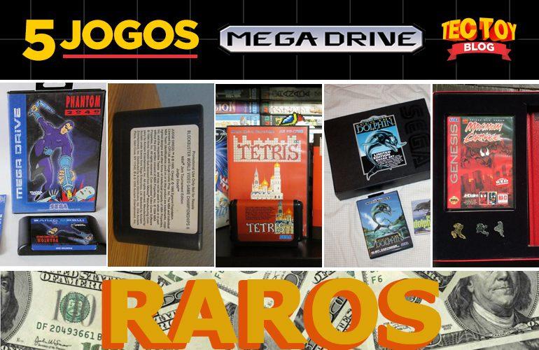 Para Colecionador! 5 Jogos Raros do Mega Drive!