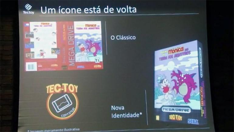 Turma da Mônica - Terra dos Monstros - Mega Drive