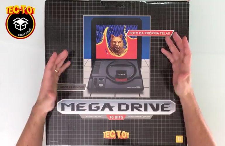 unboxing mega drive