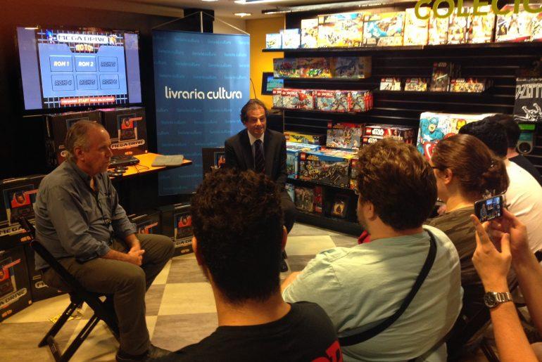 Evento da Tectoy na Livraria Cultura - Foto 06