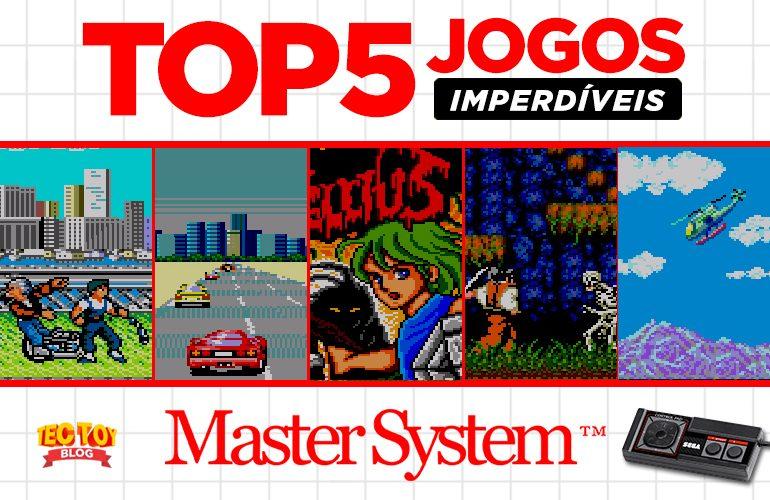 7c1299f9d4b Confira 5 jogos do Master System que não tiveram versões para Mega Drive!
