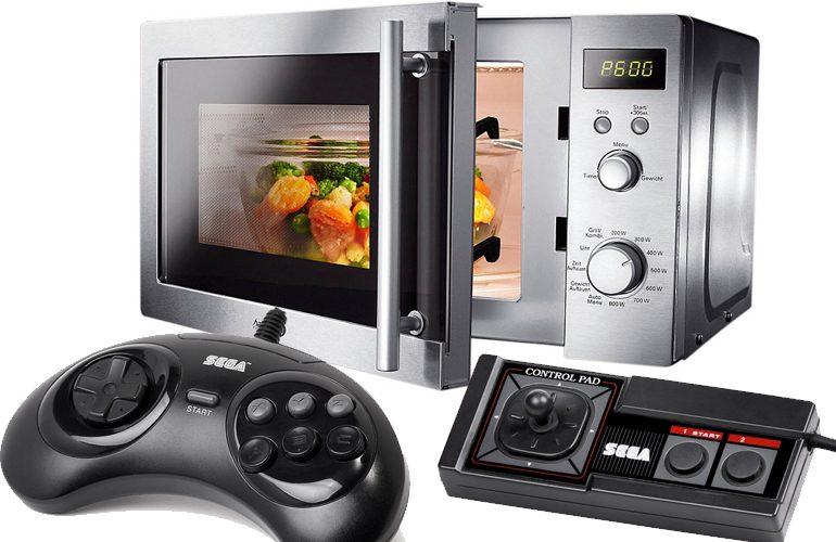 f84bca815b3 Experiência maluca  Controlando o Micro-Ondas com os Joysticks do Mega  Drive e Master System!