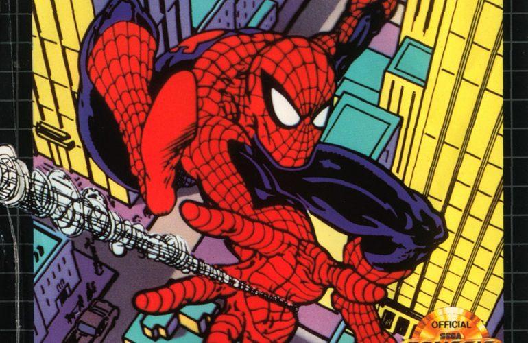 03880a9e717 Homem-Aranha – O Amigão da Vizinhança em uma incrível aventura no Mega  Drive!
