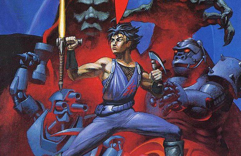 Strider – O Ninja da Capcom em grande estilo na tela do Mega Drive!