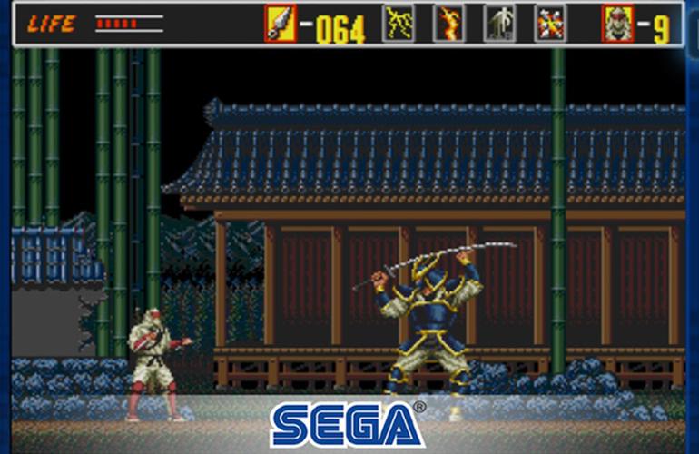 Resultado de imagem para revenge of shinobi sega forever
