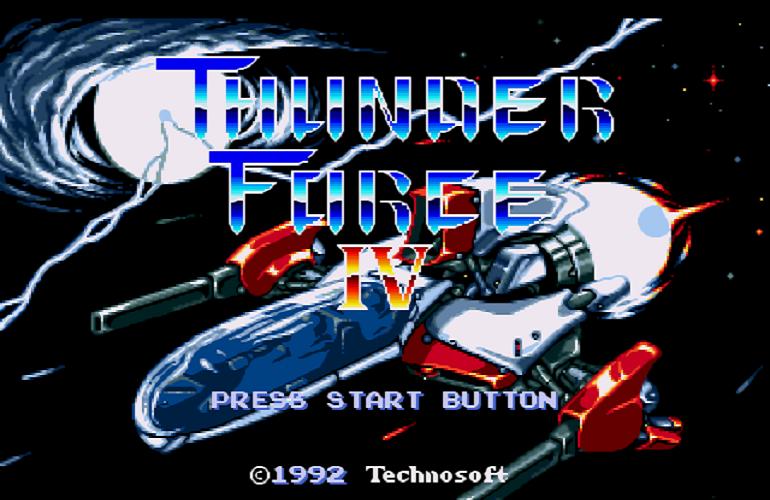a55e1df573c Thunder Force IV – Batalhas espaciais com trilha sonora épica!
