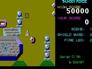 Thunder Force IV - Batalhas espaciais com trilha sonora