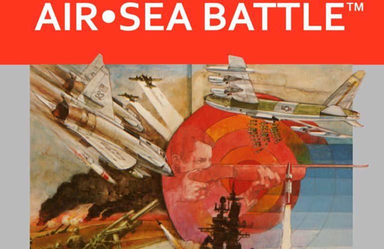 Air-Sea Battle – Bombardeie e aniquile os inimigos em um dos títulos de lançamento do Atari 2600!