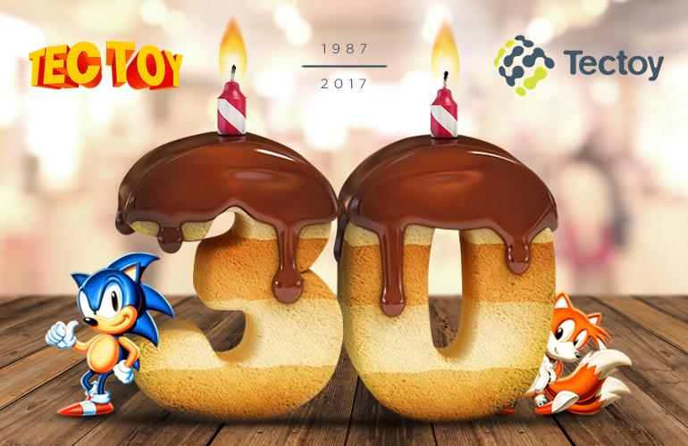 #Tectoy30Anos – Assoprando as velinhas! Tectoy comemora 30 anos de fundação!