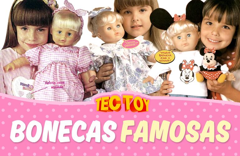 #Tectoy30Anos – Sonho das meninas! Relembre das Bonecas Eletrônicas lançadas pela Tectoy nos anos 90!