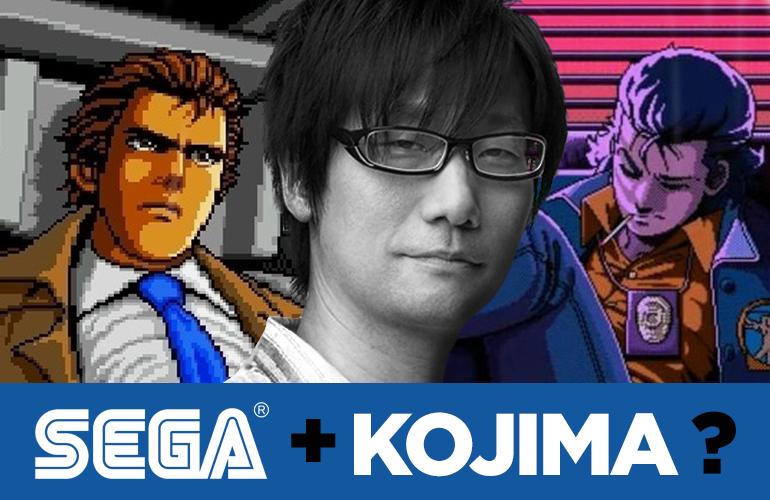 Confira dois games criados por Hideo Kojima e lançados em consoles da Sega!