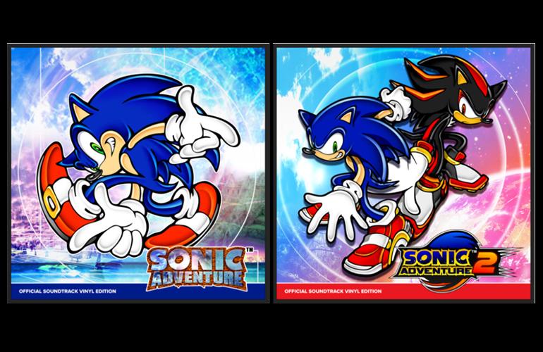 Trilhas sonoras de Sonic Adventure 1 e 2 ganharão LPs