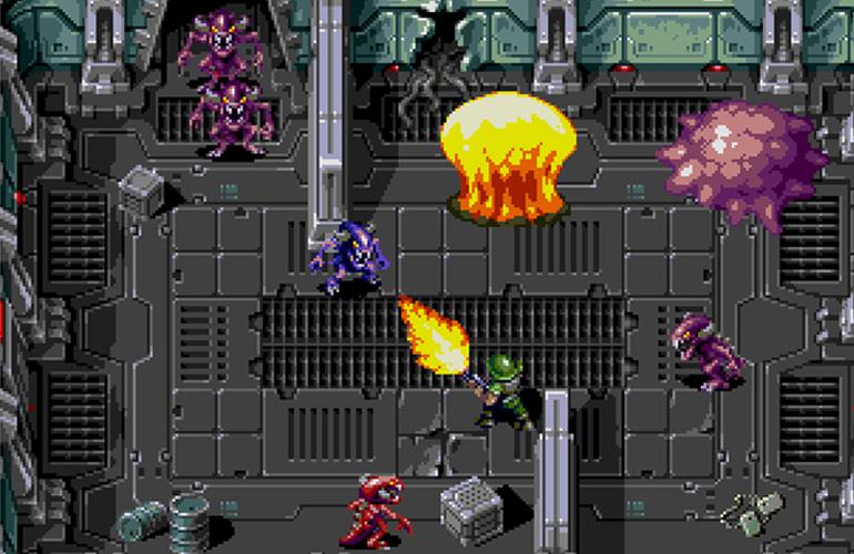 Xeno Crisis, novo jogo para Mega Drive, atinge meta no Kickstarter e