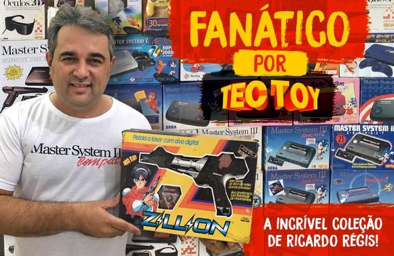 Confira a incrível coleção Tectoy de Ricardo Régis!