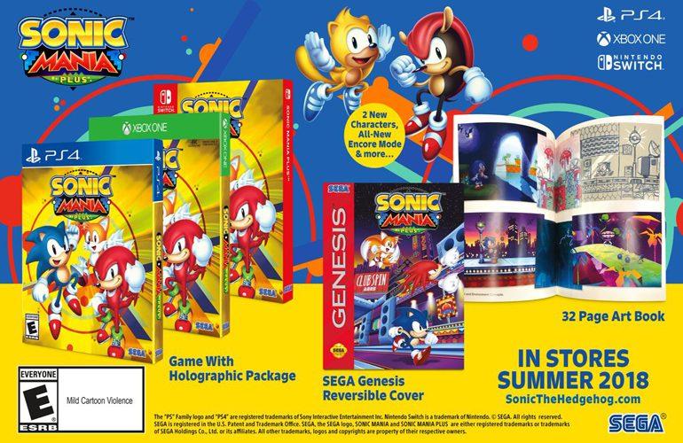 Sonic Mania Plus, nova animação, tênis do Azulão e jogo misterioso; confira tudo o que rolou na SXSW 2018!