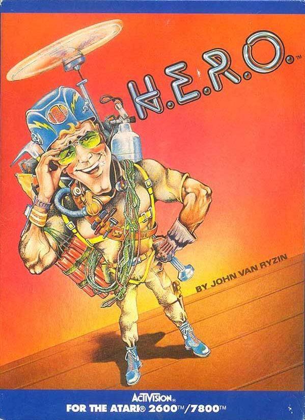 H.E.R.O. – Seja o herói neste incrível jogo do Atari. Hero-cover