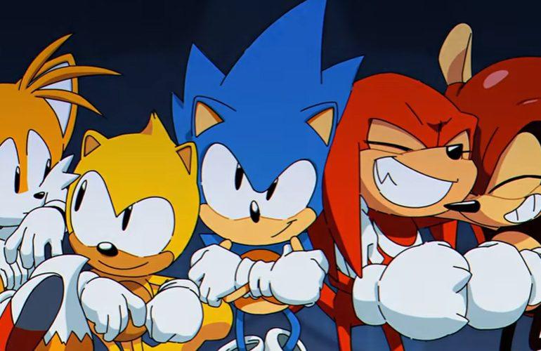 Sonic et ses potes