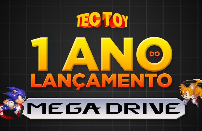 Um ano do lançamento do Mega Drive!
