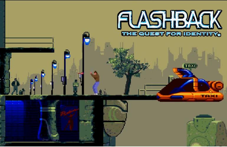 Flashback - Uma aventura scifi imperdível no Mega Drive