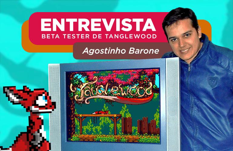 Confira entrevista exclusiva com Beta Tester brasileiro de Tanglewood, novo jogo para Mega Drive!