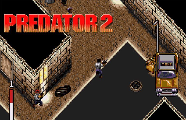 O alien Predador ataca em versões 8/16 bits!