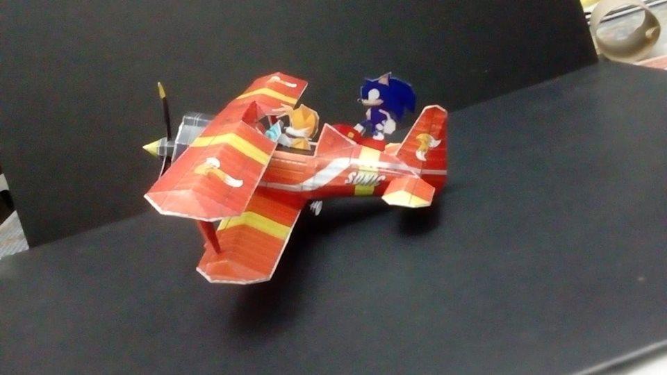 Papercraft do Sonic e card game do Skies of Arcadia! Conheça o talento de Marcelo Hirata 1-2