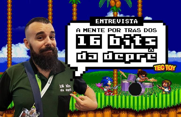 16 bits da Depressão: entrevistamos o criador da página de humor sobre games clássicos!