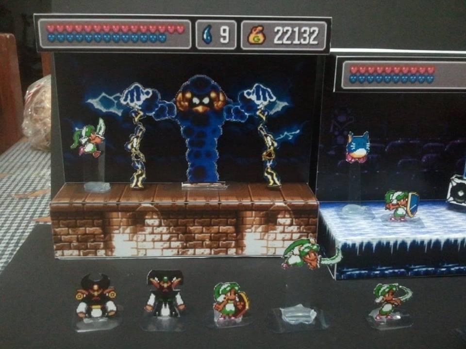 Papercraft do Sonic e card game do Skies of Arcadia! Conheça o talento de Marcelo Hirata 6