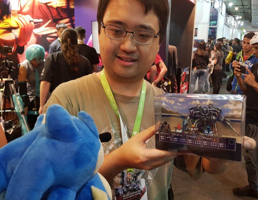 Papercraft do Sonic e card game do Skies of Arcadia! Conheça o talento de Marcelo Hirata Diorama-1024x795