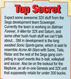 Todos os jogos do Sonic – Cancelados. Gameplayers_March1995_SonicSports