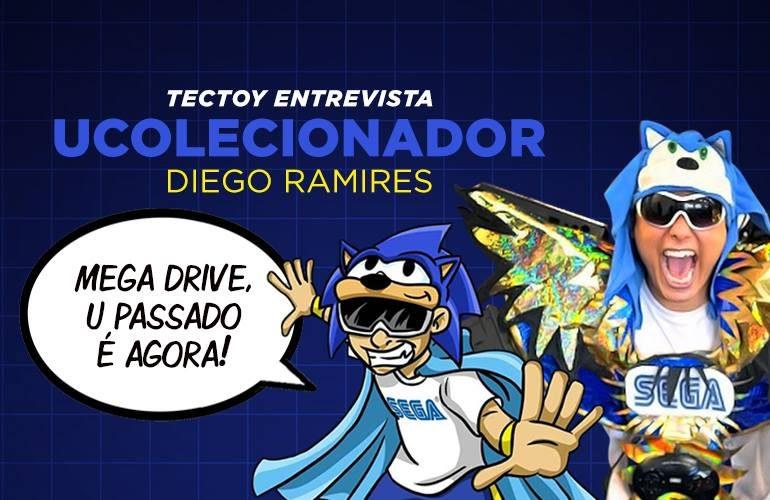 d35cc21e848 Entrevista UColecionador – O maior colecionador de periféricos do Mega no  Brasil