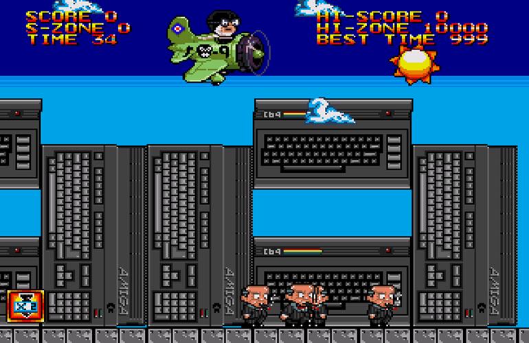 Bomb on Basic City SE, novo jogo indie para Mega Drive, inicia pré-venda Bomb-on-basic-city-se_capa