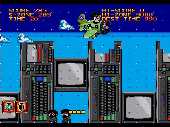 Bomb on Basic City SE, novo jogo indie para Mega Drive, inicia pré-venda Sans_t48