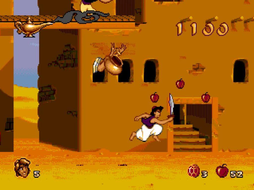 Aladdin - Quatro milhões de cópias refletem a qualidade de um clássico no Mega Drive Aladdin2-1024x768