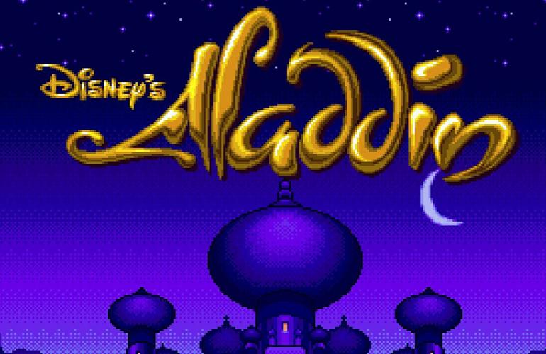 Aladdin - Quatro milhões de cópias refletem a qualidade de um clássico no Mega Drive Capa