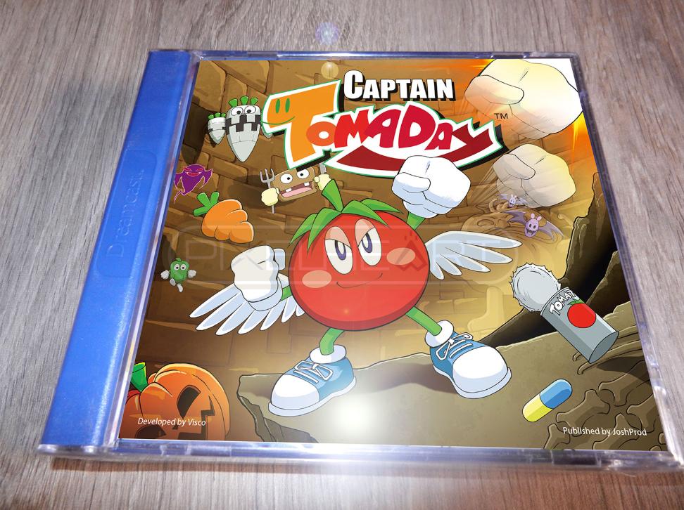 Dreamcast também tem jogos inéditos em desenvolvimento, confira alguns deles! Captain-tomaday