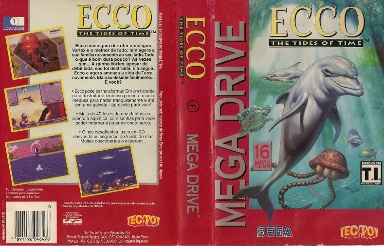 Ecco the Tides of Time Capa