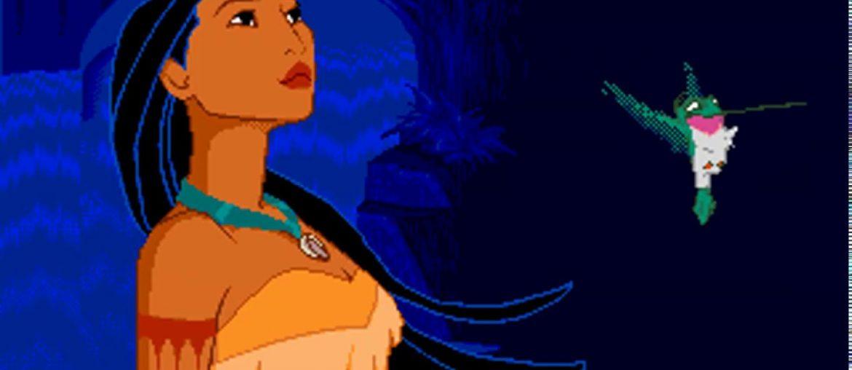 Pocahontas é um dos mais belos do Mega Drive