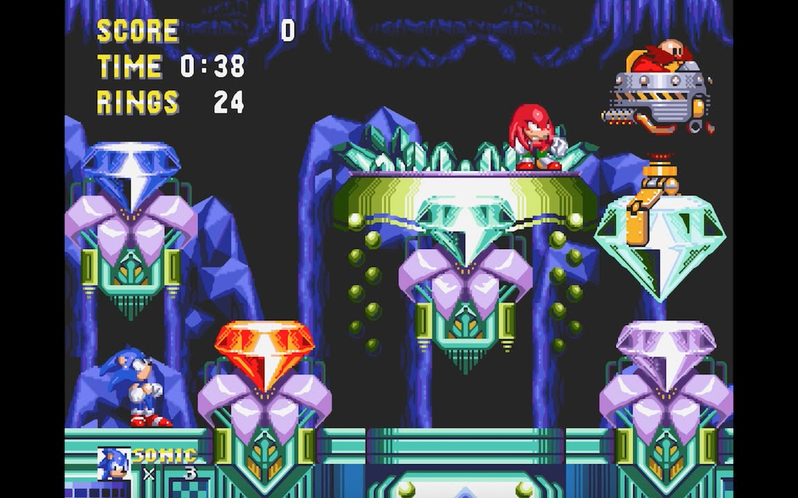 Hidden Palace de Sonic & Knuckles