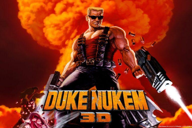 Duke Nukem 3D possui efeitos visuais bem impressionantes para o Mega!