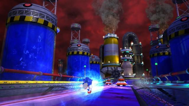 Chemical Plant foi uma das fases recriadas em Sonic Generations (Foto: Reprodução)