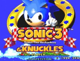 Sonic 3 e Knuckles capa