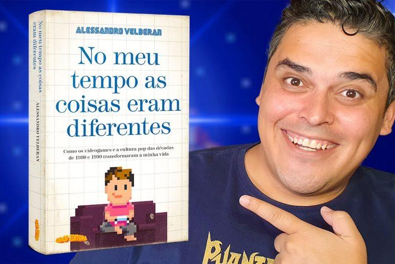 Entrevista com o YouTuber Velberan sobre seu livro