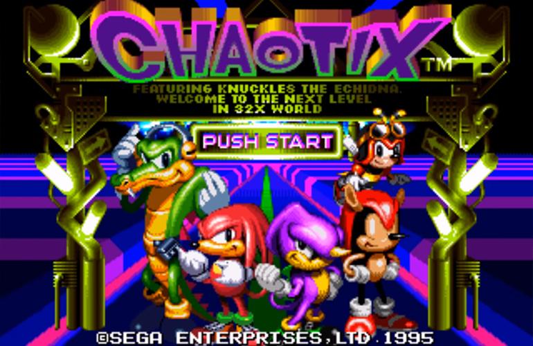 Curiosidades RÁPIDAS de Knuckles Chaotix