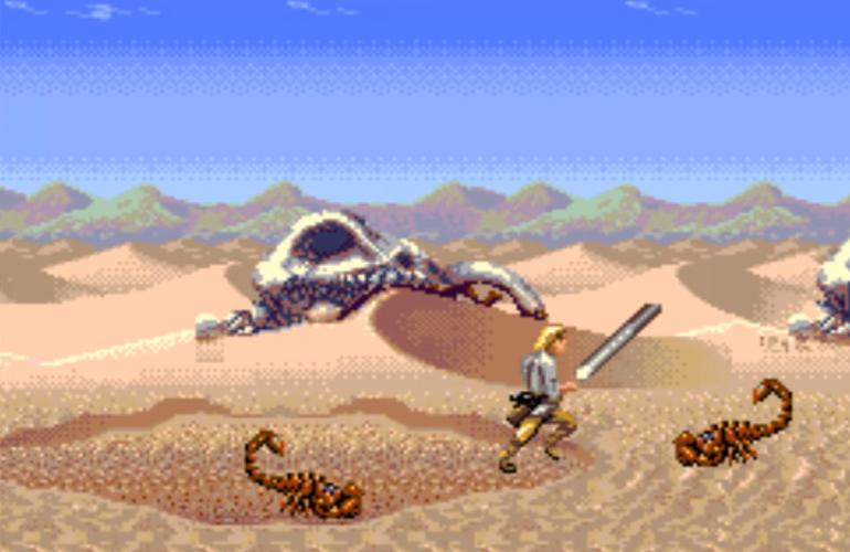Demo de Super Star Wars para Mega Drive é encontrado
