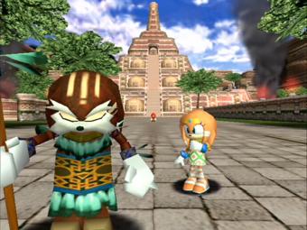 Tikal não concordava com o rumo que seu pai estava levando o clã de equidnas.